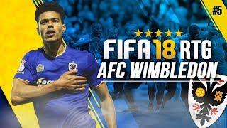 FIFA 18 | WIMBLEDON ROAD TO GLORY CAREER MODE!!! | MK DONS CLASH + GOALS GALORE! [#5]