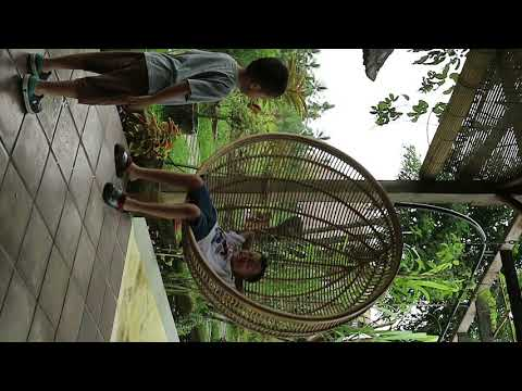 Phil & Pierre @Organic & Floating Garden Ubud Bali