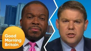 President Trump Debate Gets Extremely Heated | Good Morning Britain