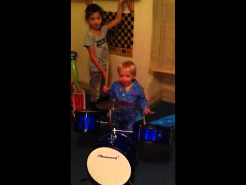 Sonny brown drumming on his first tour in wales
