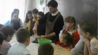 Урок лепки из глины, ч.1.