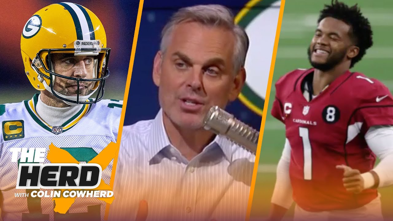 Colin decides which NFL QBs he would take over Aaron Rodgers for next 10 years | NFL | THE HERD
