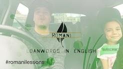 Romani loanwords in English