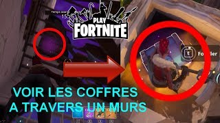 TUTO - How to see the chests through the walls? - FORTNITE (SAUVER THE WORLD)