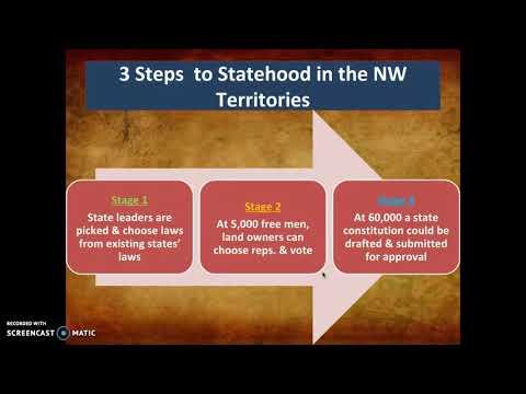 Northwest Ordinance Notes