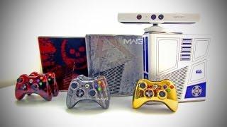 XBOX 360 Limited Edition Console Comparison