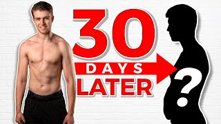 How Fit is He 30 Days After His Body Transformation?