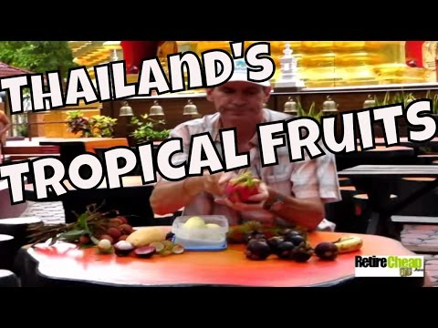 Some of JC's Delicious and Favorite Tropical Fruits of Thailand