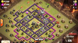 Clash of clans ataque top dragões ... E arq e bb (Plasta e espertanopsy)