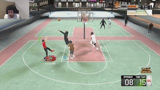 IM UNGAURDABLE WITH NO BADGES! NBA 2K20 GAMEPLAY!
