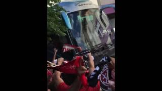 Real Valladolid 1-3 RCD Mallorca | RECIBIMIENTO BUS MALLORCA