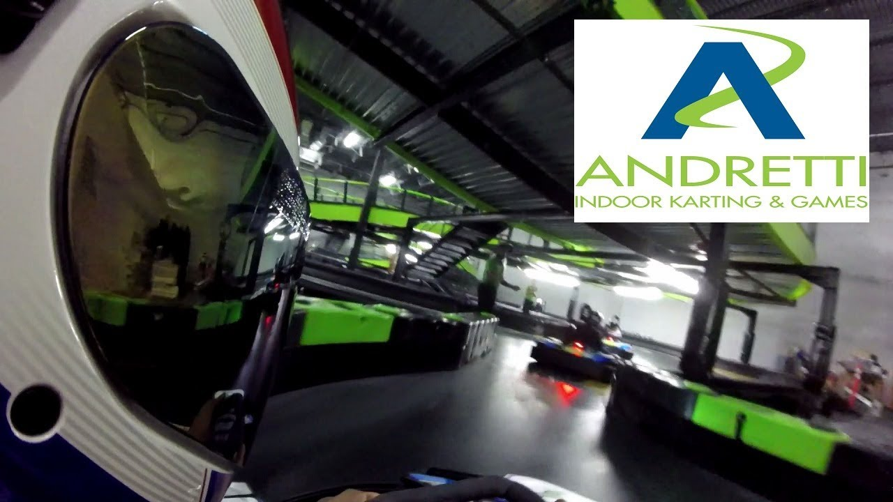 First Time At Andretti Indoor Karting San Antonio Youtube