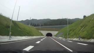 濃飛横断自動車道 ささゆりトンネル→和良金山トンネル 2016年8月