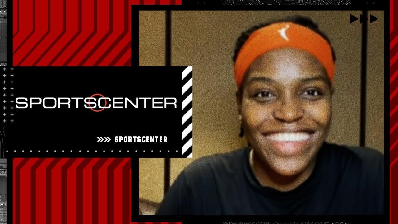 Jonquel Jones talks winning WNBA MVP | SportsCenter