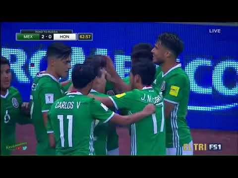★ MEXICO 3-0 HONDURAS ★ 2018 FIFA World Cup Qualifiers - All Goals ★