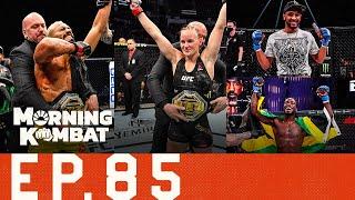 UFC 255: Preview | McGregor-Poirier 2 Official | Anderson Silva Released? | Morning Kombat | Ep. 85