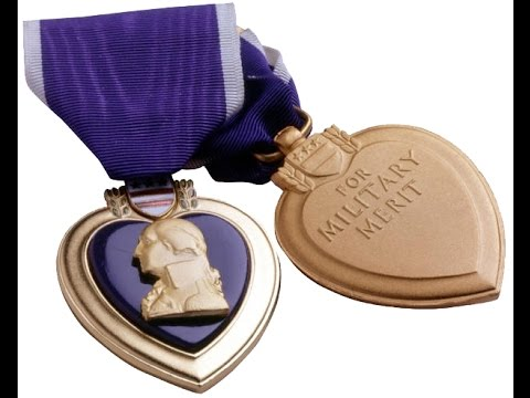 Purple Heart Awards Ceremony July 1, 2015