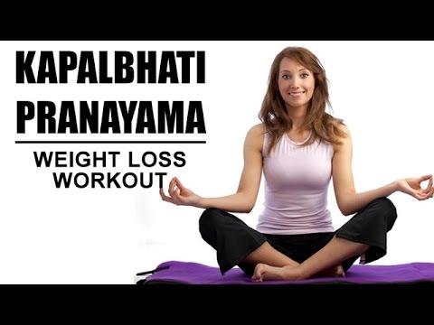 kapalbhati yoga breathing exercise weight loss