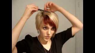 How to Braid Short Bangs