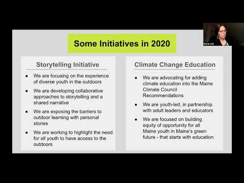 Lunch & Learn: Nature-Based Education in Maine