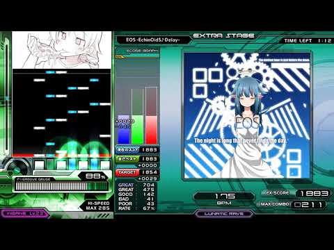 [発狂BMS] ★★3 EOS Easy Clear!