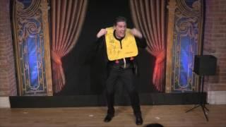 Comedy magician Erick Olson