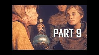 A Plague Tale Innocence Walkthrough Part 9 - Cure (Gameplay Commentary)