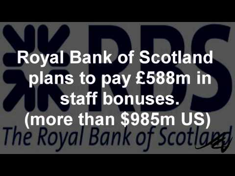 RBS loses £46 billion UK bailout  'show me the money' -  YouTube