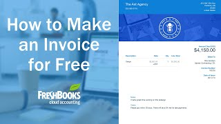 How To Make An Invoice Youtube