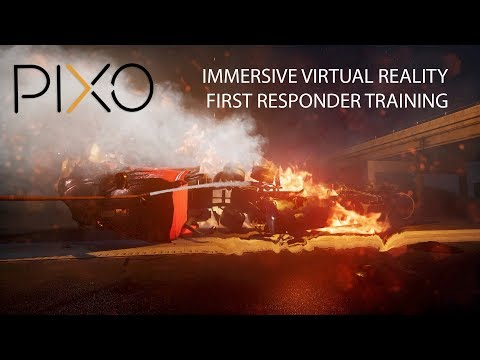 Immersive VR Training for First Responders