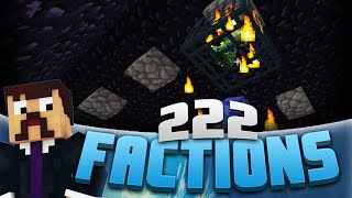 Minecraft Factions #222 - Destroying A Creeper Raid! (Minecraft Raiding)