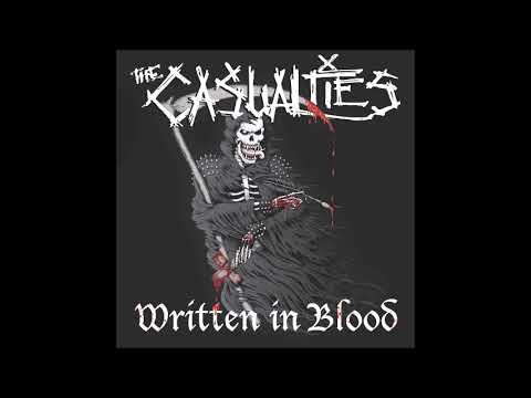 Free Download The Casualties - Written In Blood (2018) Full Album Mp3 dan Mp4