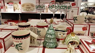 Browse with me MACYS KITCHEN CHRISTMAS DINNERWARE 2018