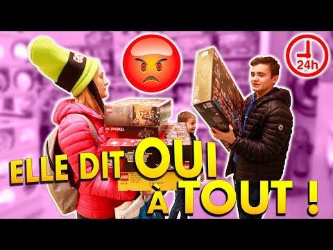 MAMAN DIT OUI À TOUT PENDANT 24H !!! - YES MAN CHALLENGE