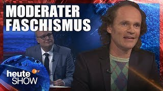 Olaf Schubert über die Ergebnisse der Bundestagswahl | heute-show vom 29.09.2017