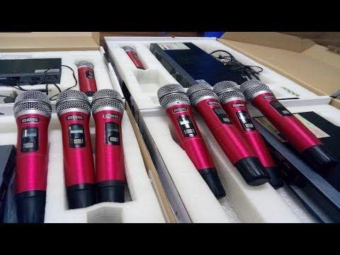 Micro Bãi BBS Đẹp 6 số M928 Karaoke Tuyệt Vời