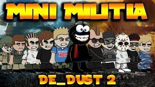 Doodle Army 2 : Mini Militia De_dust2 | Stereotypes | Double Decker