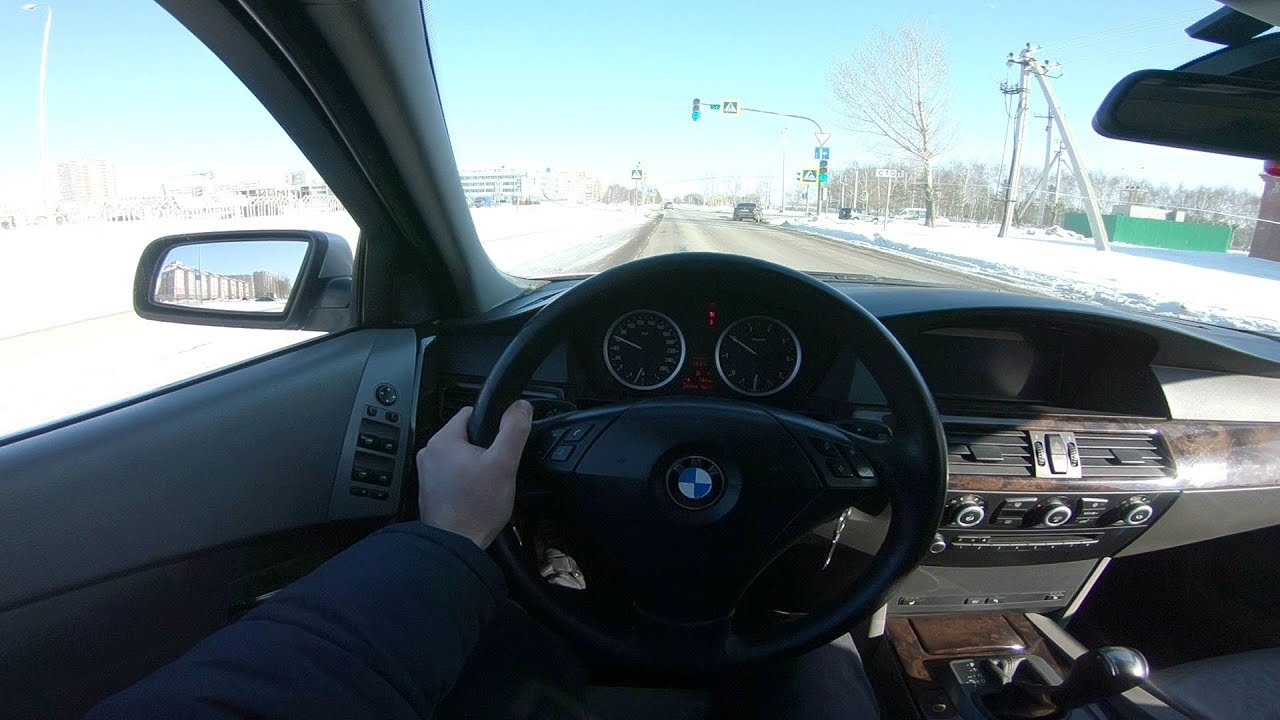Bmw Garage Rotterdam : 2004 bmw 525i e60 pov test drive youtube