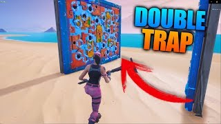 New Poison Dart Trap Glitch! (Fortnite Season 8)