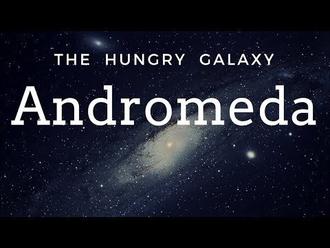 The Giant Andromeda Galaxy ( In Hindi ) | The Hungry Galaxy Of Our Local Group