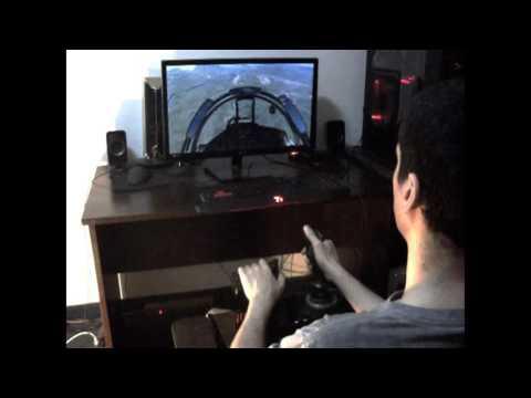 thrustmaster t flight hotas x dcs world su 27 youtube. Black Bedroom Furniture Sets. Home Design Ideas
