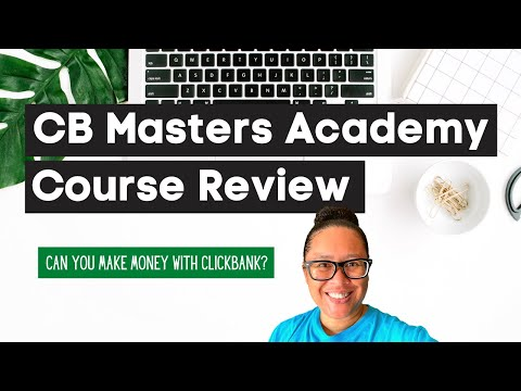 My CB Masters Academy Review [Aversity Clickbank Course]