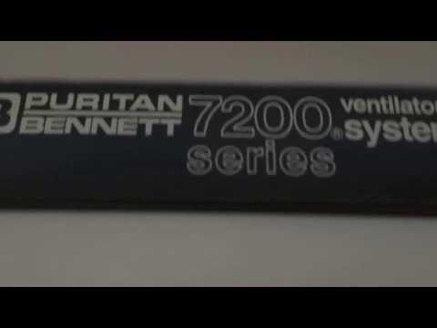 Pb 7200 Ae Ventilator By BR Medical Systems YouTube