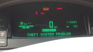 Como Apagar el Sistema Anti Robo En Mi Carro -anti theft- Security