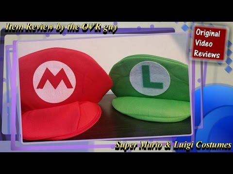 Item review - Super Mario & Luigi Costumes