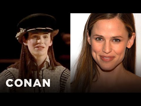 Eddie Redmayne Is A Dead Ringer For Jennifer Garner   CONAN on TBS