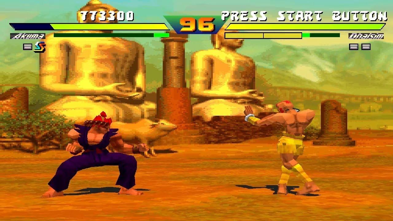 Super Blanka's Revenge - Street Fighter EX2 Plus