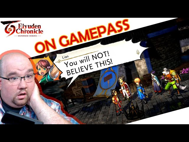 Eiyuden Chronicle coming to GamePass Reaction! | DrLevelUp