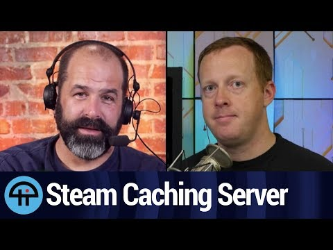 Faster Downloads Using A Steam Caching Server