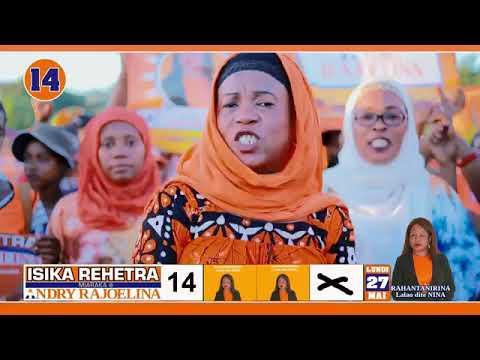 Clip officiel  députe Nina Numero 14    Majunga 1  Cameraman Mr Elie Heriniai